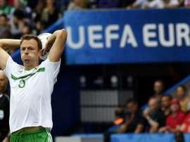 Evans, dans le viseur de nombreux clubs. AFP