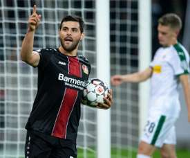 Volland scored the winner. AFP
