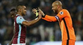 El West Ham prepara la vuelta de Randolph. AFP