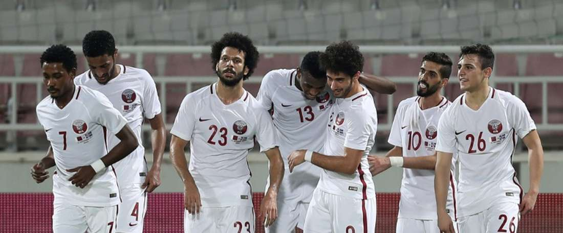 Qatar snatched a draw from the jaws of defeat. AFP