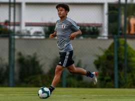 Irmão de Kubo também jogará no Real Madrid. AFP