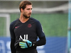 Kevin Trapp is back at Frankfurt permanently after loan spell. AFP