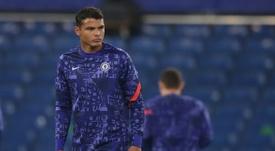 A simple present has got Thiago Silva into trouble. AFP