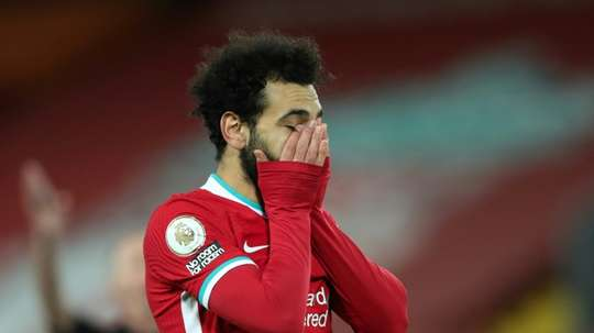 Liverpool were stunned at home by Burnley late on. AFP