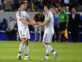Los Galaxy deberán esperar una semana más para poder confirmar su plaza en los play off. AFP