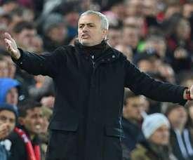 Mourinho de retour en conférence de presse. AFP