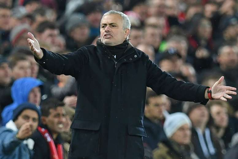 Mourinho quitte Manchester United. AFP