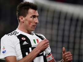 Mario Mandzukic is close to moving to Qatar. AFP