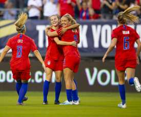 Judge rules against US women's soccer team in equal pay case. AFP