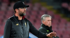 Klopp said that his Liverpool side were not good enough. AFP