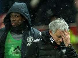 Manchester United. AFP