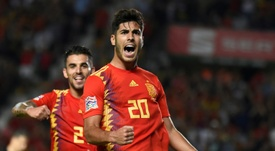 Asensio was involved in four of Spain's five goals against Croatia. AFP