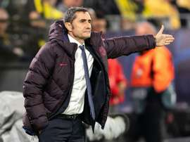 Valverde is trying to think positively. AFP