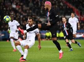 PSG won 5-0. AFP