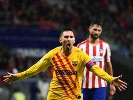 Bartomeu ha parlato del futuro di Messi. AFP