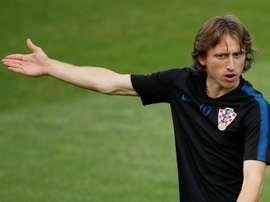 Luka Modric pasaría por el Inter antes de irse a China. AFP