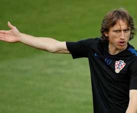 Modric passerait par l'Inter avant de terminer en Chine. AFP