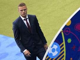 Iceland defender Ragnar Sigurdsson has signed for Fulham. AFP