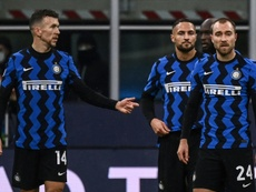 Inter Milan are out of Europe after failing to beat Shakhtar. AFP