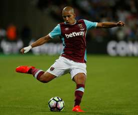 Galatasaray have signed Feghouli from West Ham. AFP