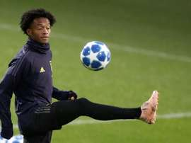 Cuadrado will make his 50th Juventus appearance. AFP