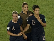 France had been desperate to go all the way to the final of the World Cup on home soil. AFP