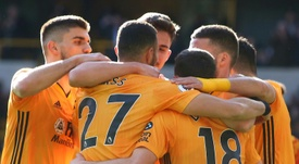 Wolves cruised to victory over Norwich in the Premier League. AFP