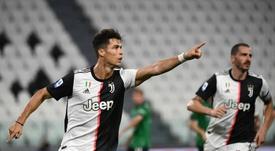 Cristiano va como un tiro a por el 'Capocannoniere'. AFP
