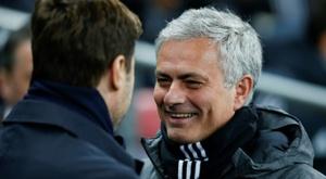 Pochettino gostou da resposta de Mourinho sobre favoritos à Premier. AFP