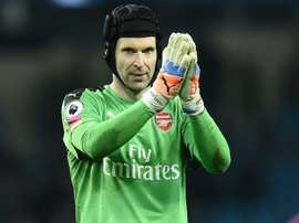Cech helped Mason during his recovery from his serious head injury. AFP