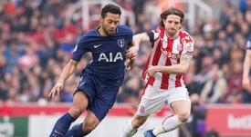 Allen no podrá jugar la Eurocopa con Gales. AFP