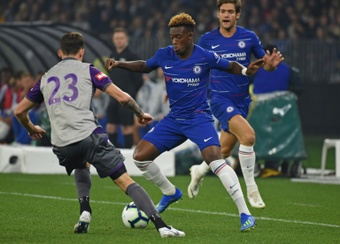Les jeunes talents de Chelsea cherchent fortune ailleurs. AFP