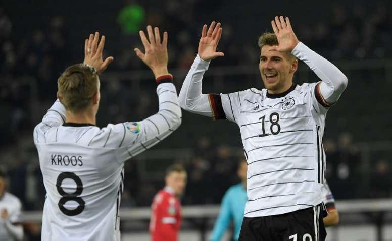 Kroos calls for improvements as Germany book Euro 2020 berth