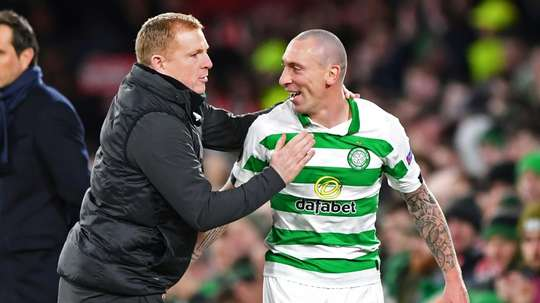 Celtic match historic feats of nine in a row. AFP