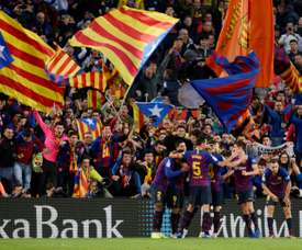 Barcelona are among the four clubs set to benefit. AFP