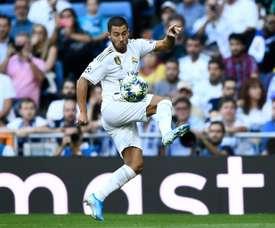 Hazard, um malabarista sem gol. AFP