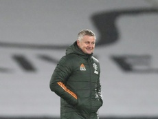 Solskjaer wants United to follow his FA Cup example. AFP