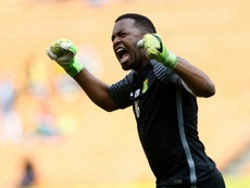 Khune stars as Kaizer Chiefs win on CAF Champions League return. AFP
