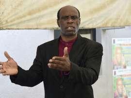 He has spoken out against corruption. AFP