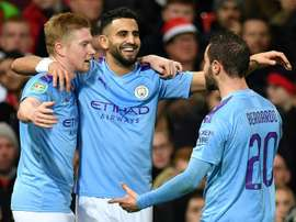 Les compos probables du match de Premier League entre Manchester City et Crystal Palace. AFP