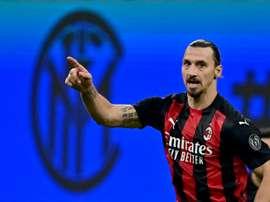 Zlatan, roi de Milan. AFP