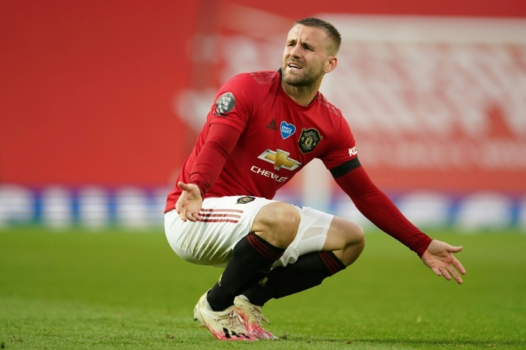 Man Utds Shaw out for a month due to hamstring injury