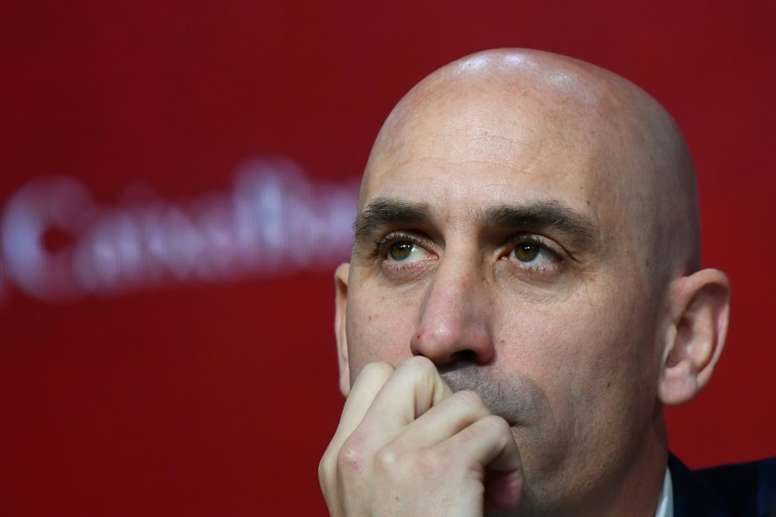 Rubiales re-elected Spanish football association president. AFP