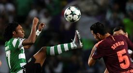 El Sporting de Portugal pide más al Atlético por Gelson Martins. AFP