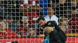 Injured Alisson to miss Super Cup clash with Chelsea