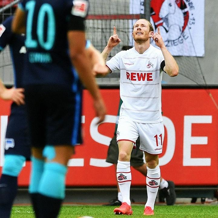 O pesadelo do Hertha continua na 21-22. AFP