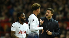 Mauricio Pochettino has made a big impact on Tottenham star Dele Alli. AFP