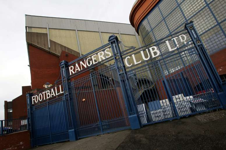 Ibrox has a reputation for excellent atmospheres on European nights. AFP