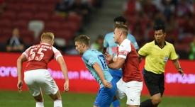 O Sporting quer o empréstimo de Vietto. AFP