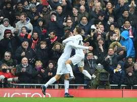 Sigurdsson marcou o gol do Swansea e silenciou o Old Trafford. AFP